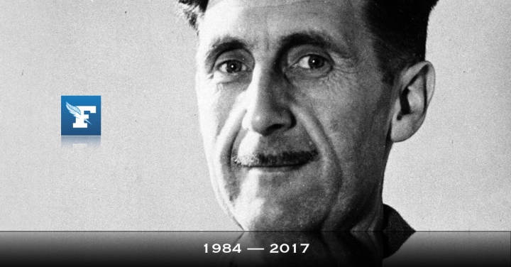 George Orwell, thou should'st be with us now