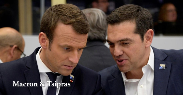 Macron in Athens