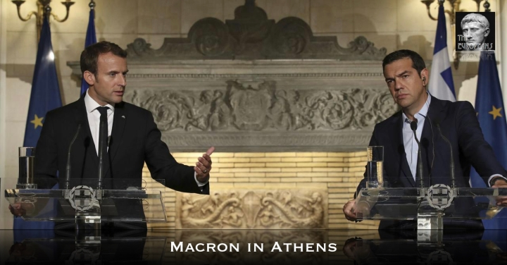 Macron in Athens