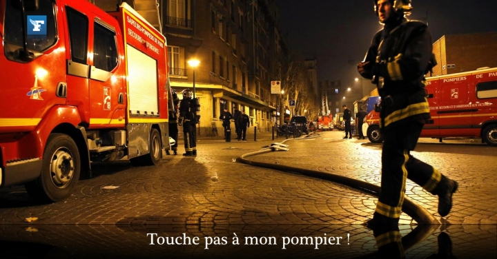 French Firefighters UnderFire