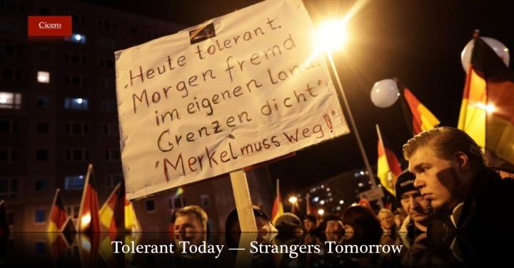 Heute Tolerant, MorgenFremd