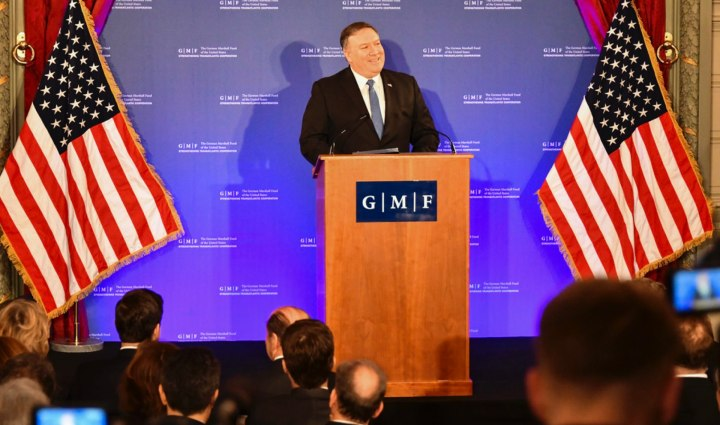 What Secretary Pompeo Said in Brussels